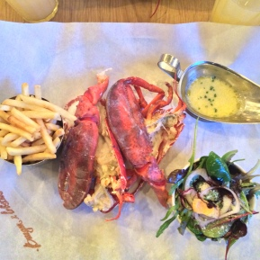 London: Burger and Lobster